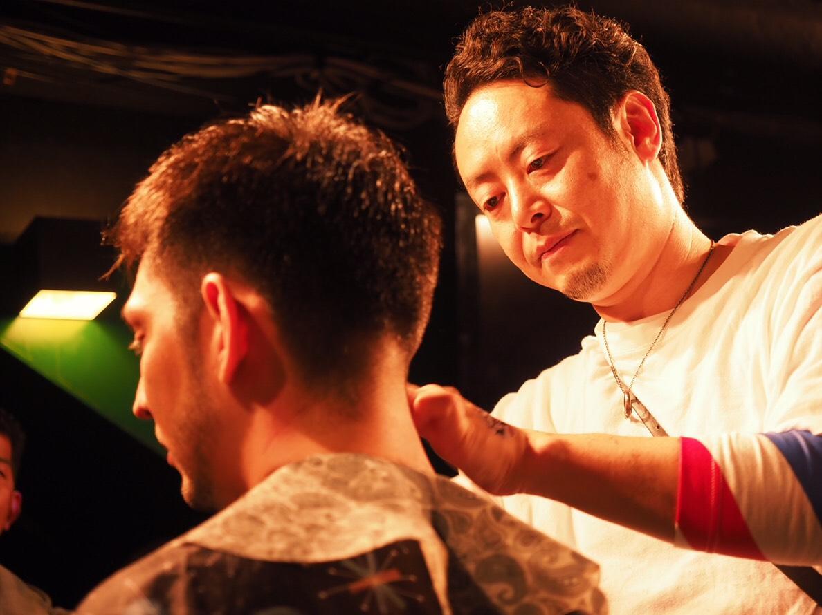 7月15日(祝)海の日 2008世界大会 チャンピオン飛田恭志 先生による 『BARBER  THE WORLD!』